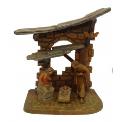 Presepio ANRI - legno Val Gardena
