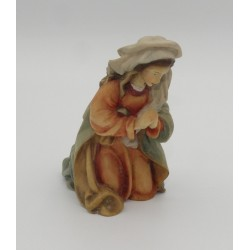 Presepio legno Val Gardena - Madonna