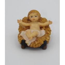 Presepio legno Val Gardena - Gesù Bambino