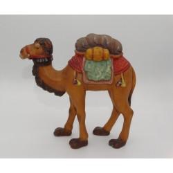 Presepio legno Val Gardena - cammello con sella