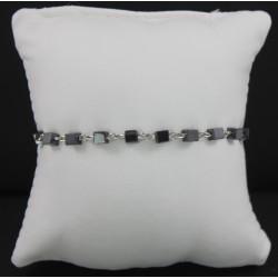 Braccialetto -Decina rosario con grani in ematite