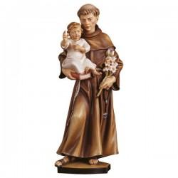 S. Antonio con Bambino in legno