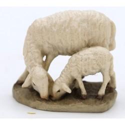 Pecora con agnello cm.10 bernardi