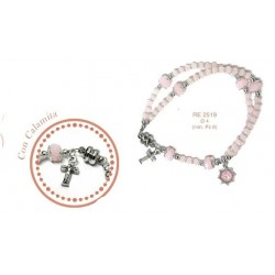 Braccialetto rosario in cristallo