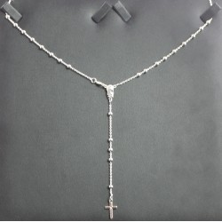 Rosario in argento anche da collo